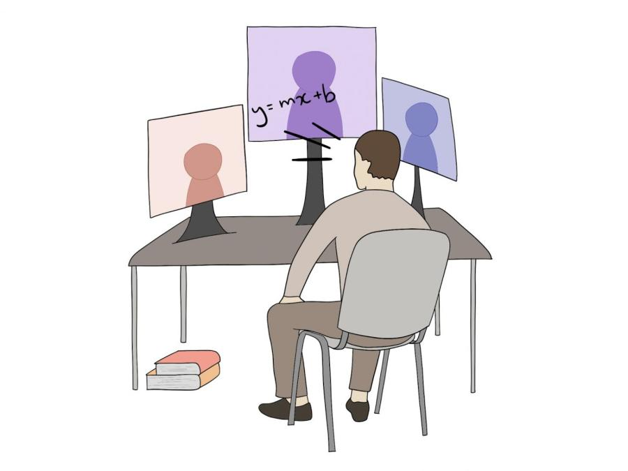Even virtually, students come together to benefit from one other. Students of all grades can peer tutor others, as long as they are excelling in that course subject.