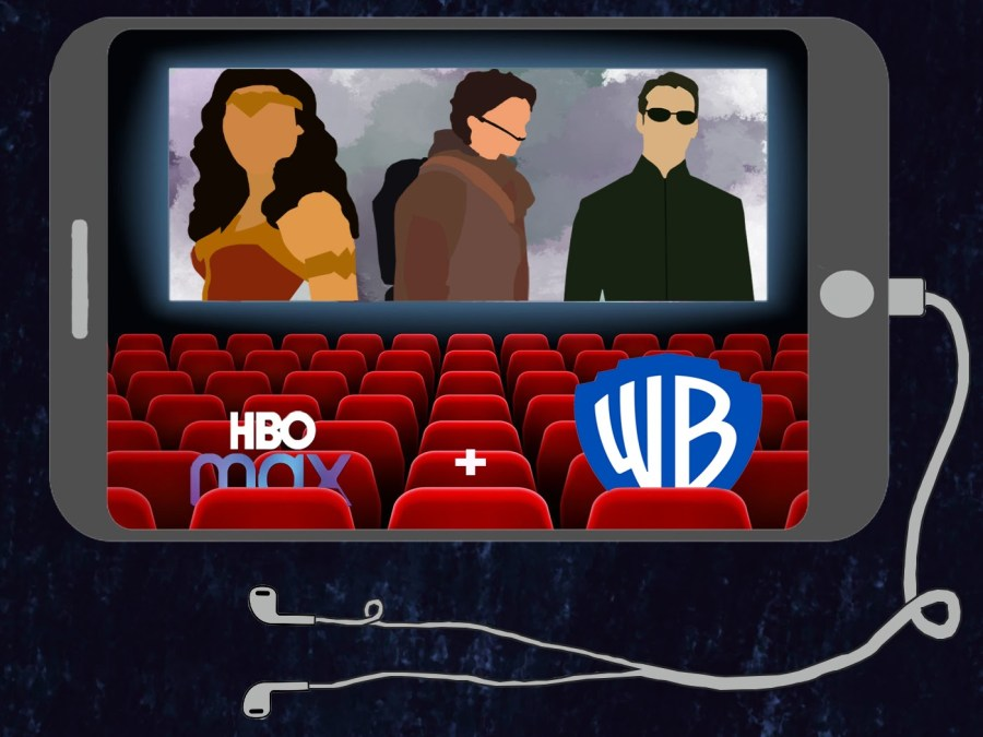 """The deal between HBO Max and Warner Bros. allows movie watchers to enjoy films such as """"Wonder Woman 1984,"""" """"Dune"""" and """"The Matrix 4"""" either in theaters or at home by streaming on HBO Max for one month."""