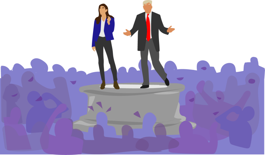 Rep. Alexandria Ocasio-Cortez and former President Donald Trump, two of the most prominent politicians who have been idolized, regularly used social media sites like Twitter to communicate with their constituents, according to the Washington Post. These interactions lend themselves to the creation of online personas that attract Americans.