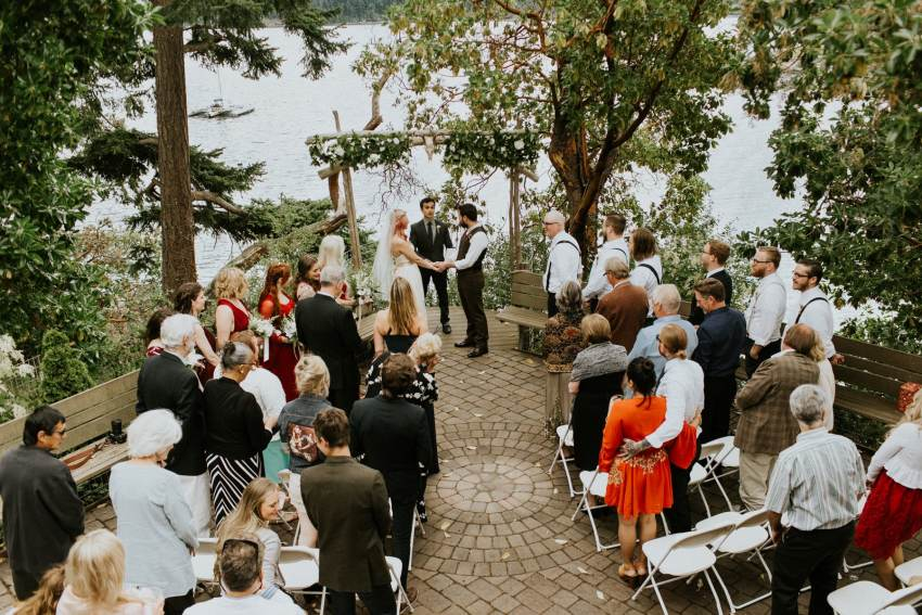 orcas island odd fellows hall wedding ceremony
