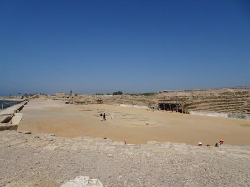 The hippodrome in Caesarea
