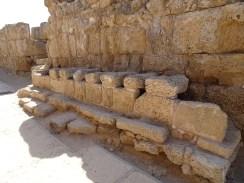 Roman toilets!