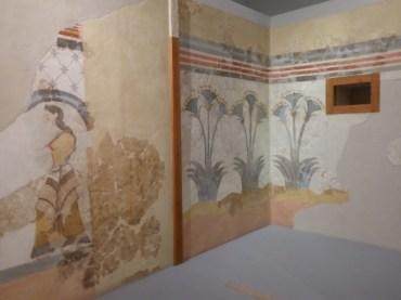 Frescoes from ancient Akrotiri