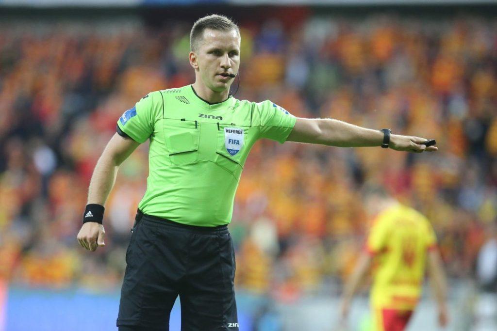 Bartosz Frankowski arbitrem meczu w Łodzi