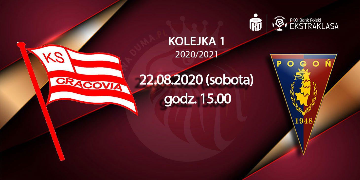 Za chwilę mecz Cracovia - Pogoń Szczecin