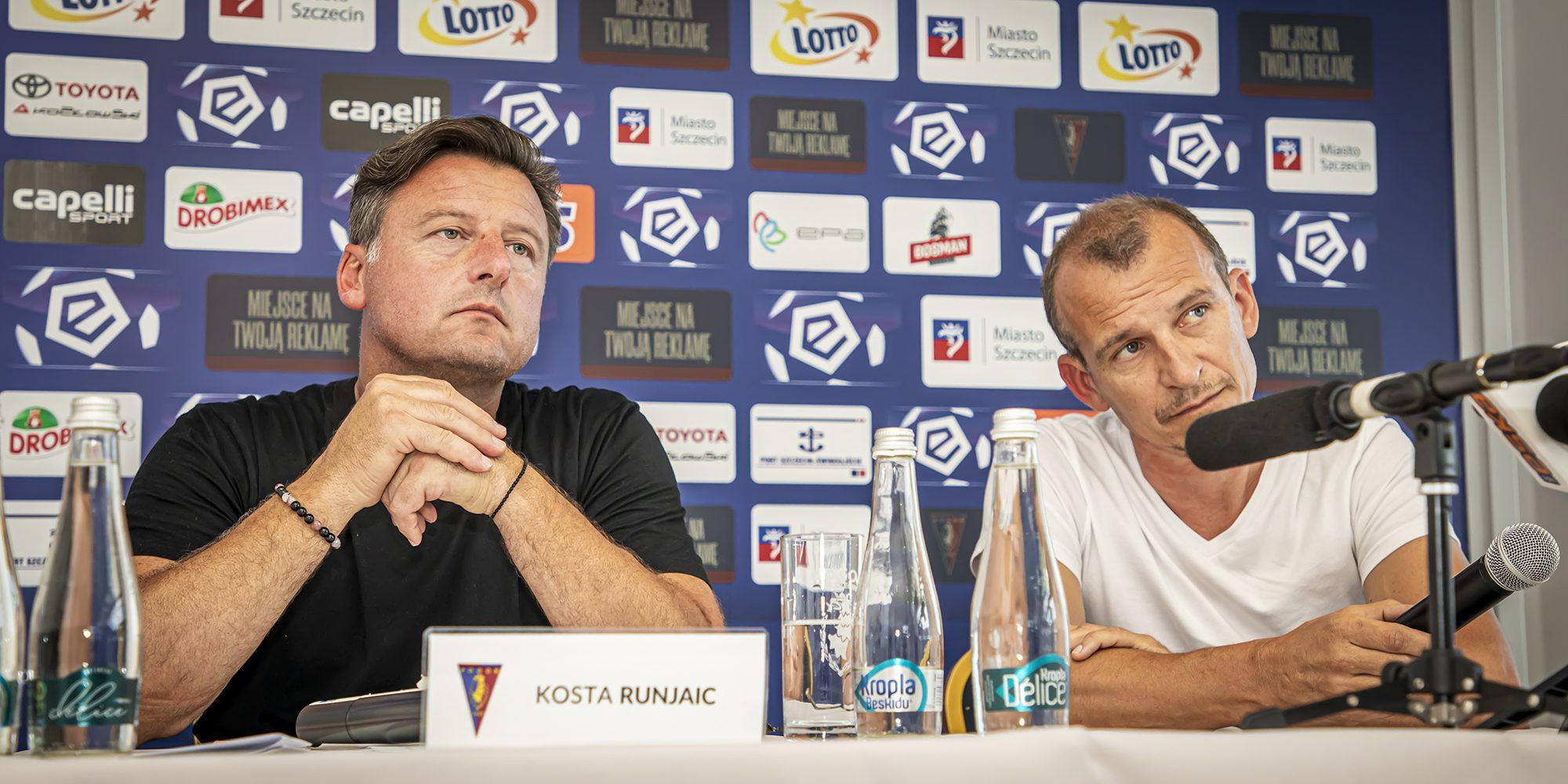 """Kosta Runjaić: """"Widzę progres w treningach. Jestem pewien, że forma się pojawi"""""""