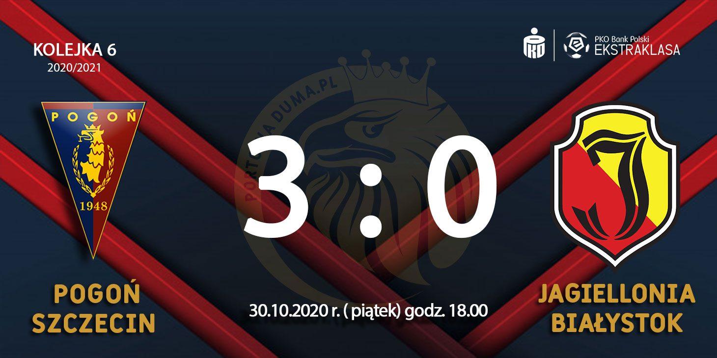 [Relacja z meczu]: Pogoń Szczecin - Jagiellonia Białystok 3:0