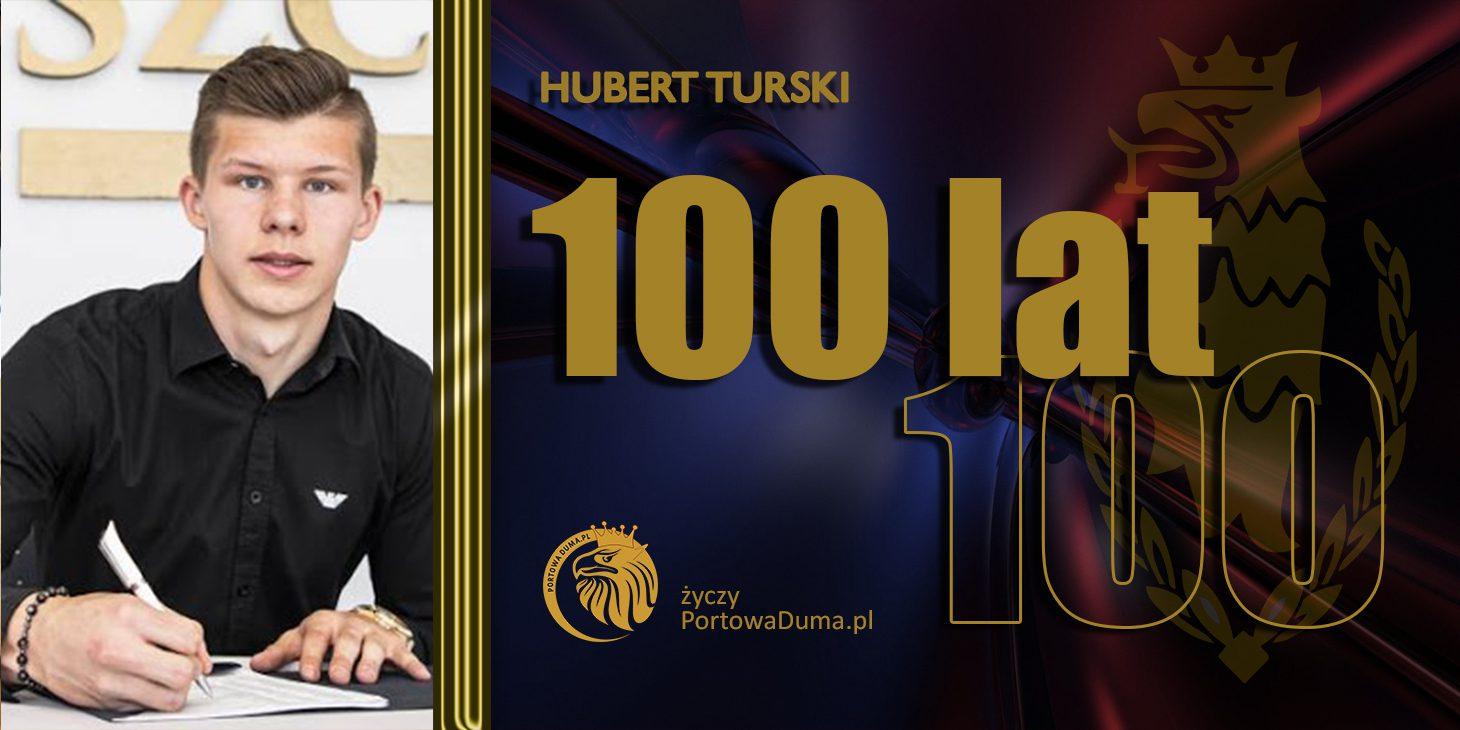 18.  urodziny Huberta Turskiego