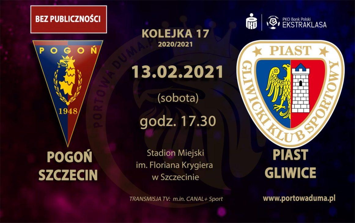 [Relacja z meczu]: Pogoń Szczecin - Piast Gliwice.