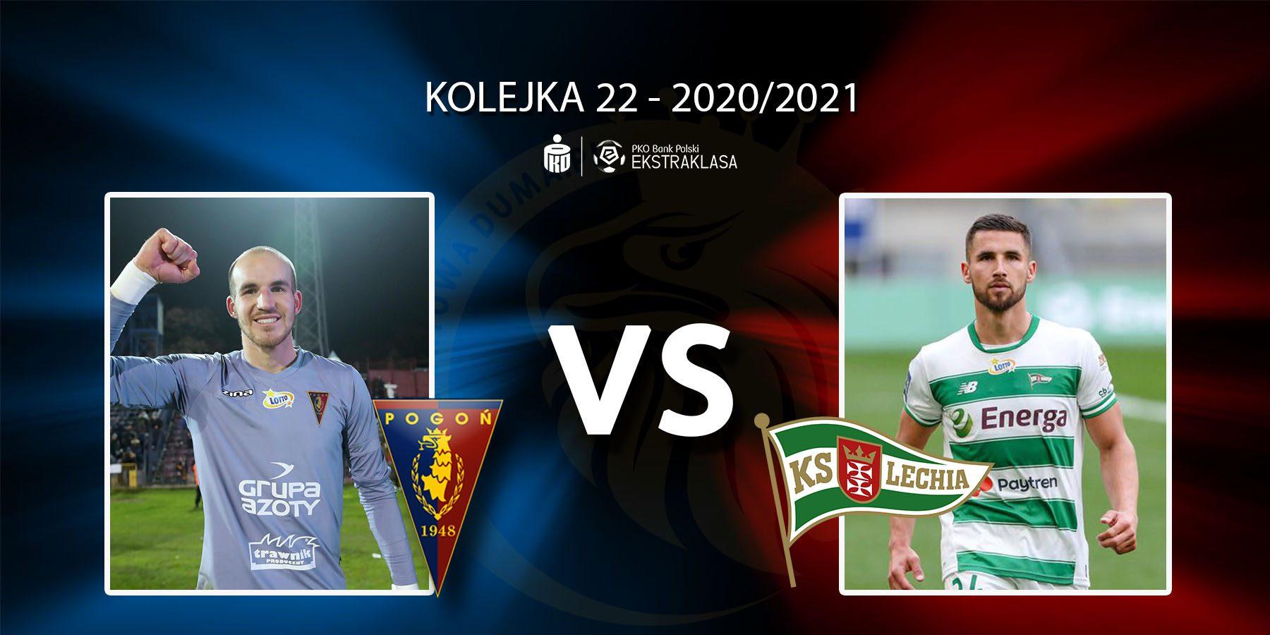 Pogoń Szczecin - Lechia Gdańsk. Pojedynek meczu: Dante Stipica vs Łukasz Zwoliński.