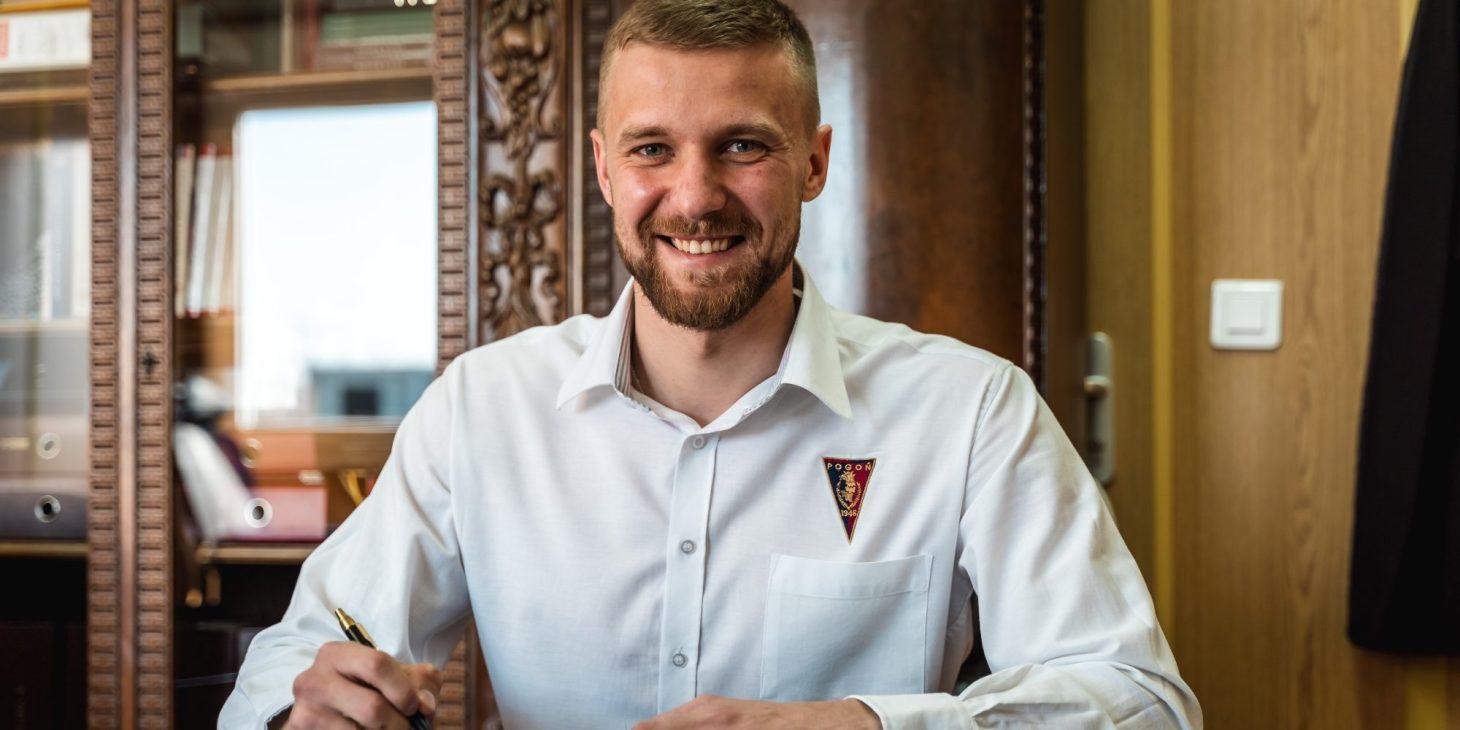 Pierwszy zawodnik przedłuża kontrakt z Dumą Pomorza. Kamil Drygas o rok dłużej w Pogoni Szczecin.