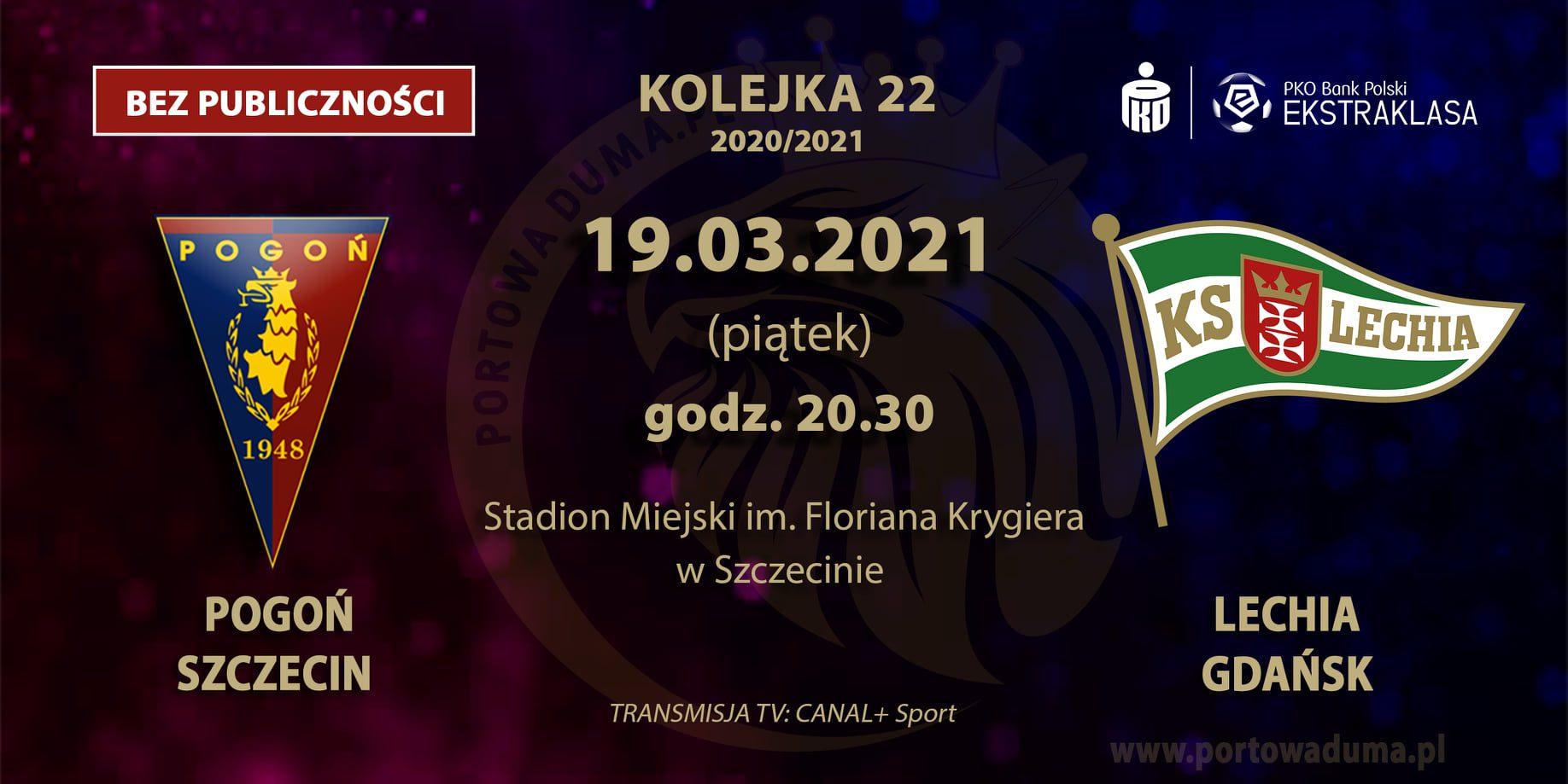[Relacja z meczu]: Pogoń Szczecin - Lechia Gdańsk.