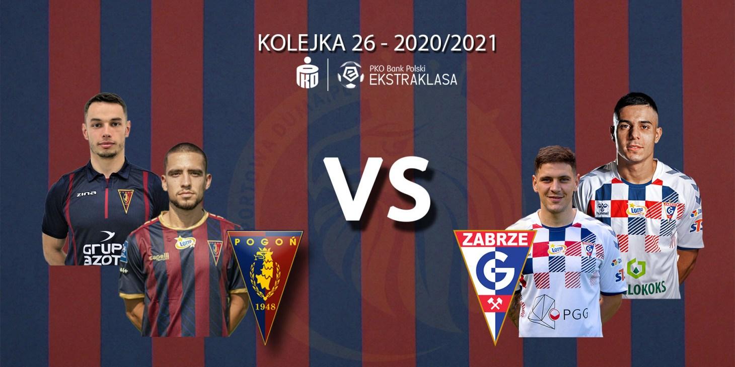Pogoń Szczecin - Górnik Zabrze. Pojedynek meczu: duet Luís Mata-Jakub Bartkowski vs duet Erik Janža-Giannis Masouras.