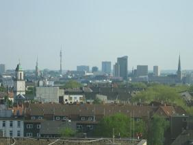 Ausschnitt der Dortmunder Skyline | Bildrechte: nickneuwald