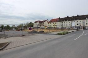 Neubaumaßnahme an der Hermannstraße im April 2014 | Bildrechte: nickneuwald