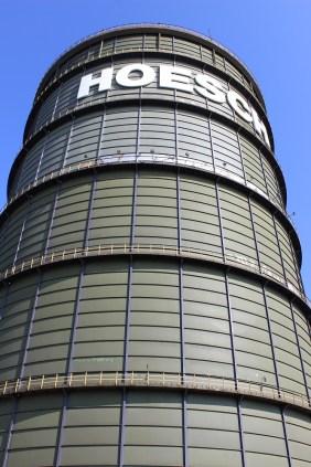 HOESCH-Gasometer auf PHOENIX West   Bildrechte: nickneuwald