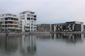 Hafenquartier des Dortmunder PHOENIX Sees   Bildrechte: nickneuwald