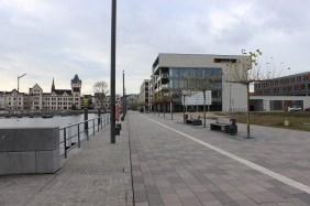 Anleger für das Restaurantschiff (links)   Bildrechte: nickneuwald