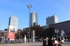 Hochhäuser in der Dortmunder Innenstadt | Bildrechte: nickneuwald