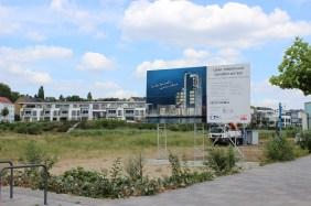 """Baufeld Wohnturm """"Hafen 12""""   Bildrechte: nickneuwald"""