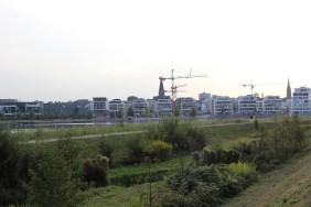 Hafenquartier des PHOENIX Sees im September 2016 | Bildrechte: nickneuwald
