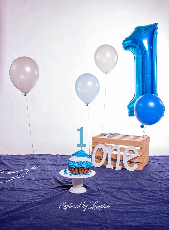 First Birthday Cake Smash Hampshire il