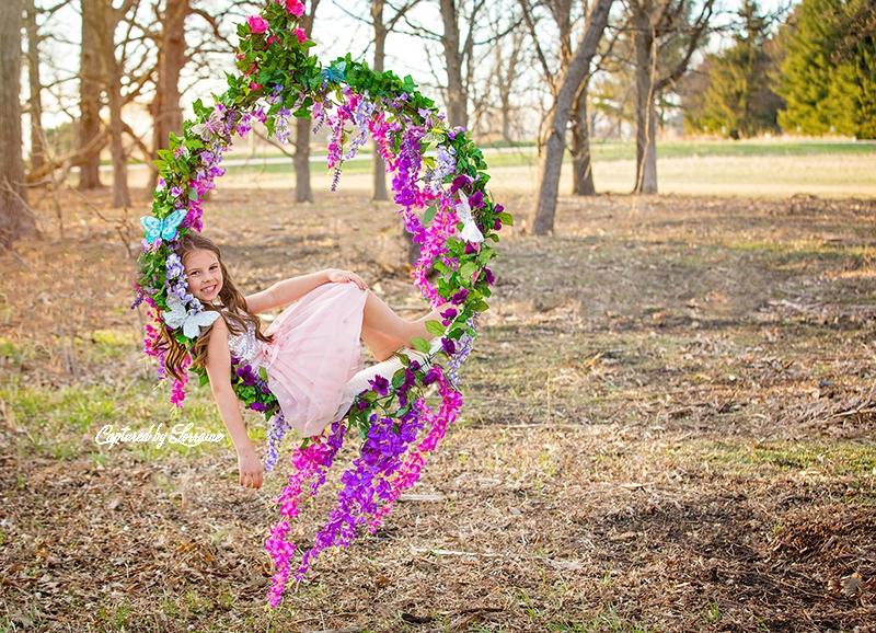 4 Flower Swing Photo session