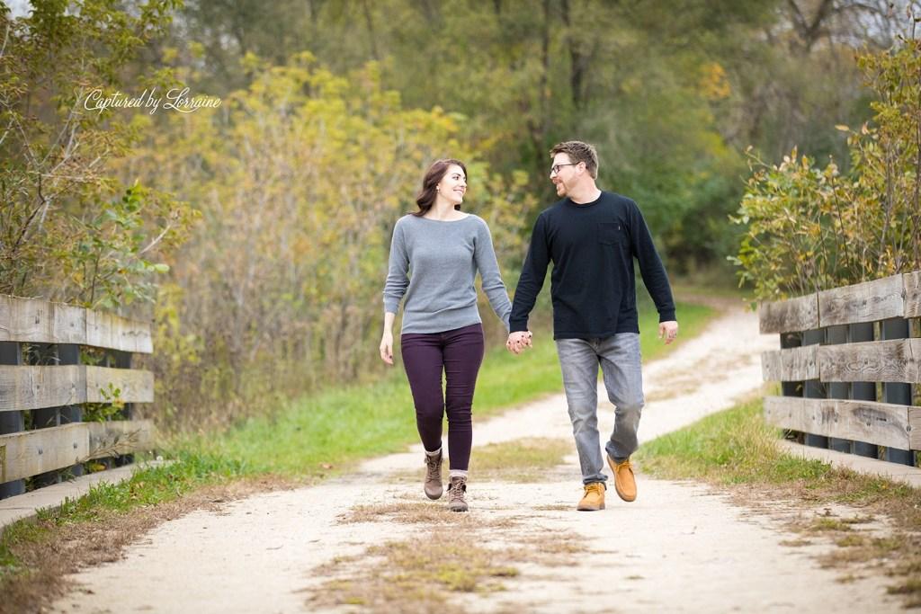 Engagement Photos Hampshire Illinois