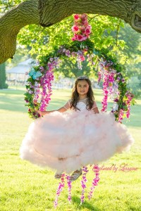 Princess Photos flower swing Illinois