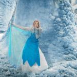 Frozen Themed Photoshoot