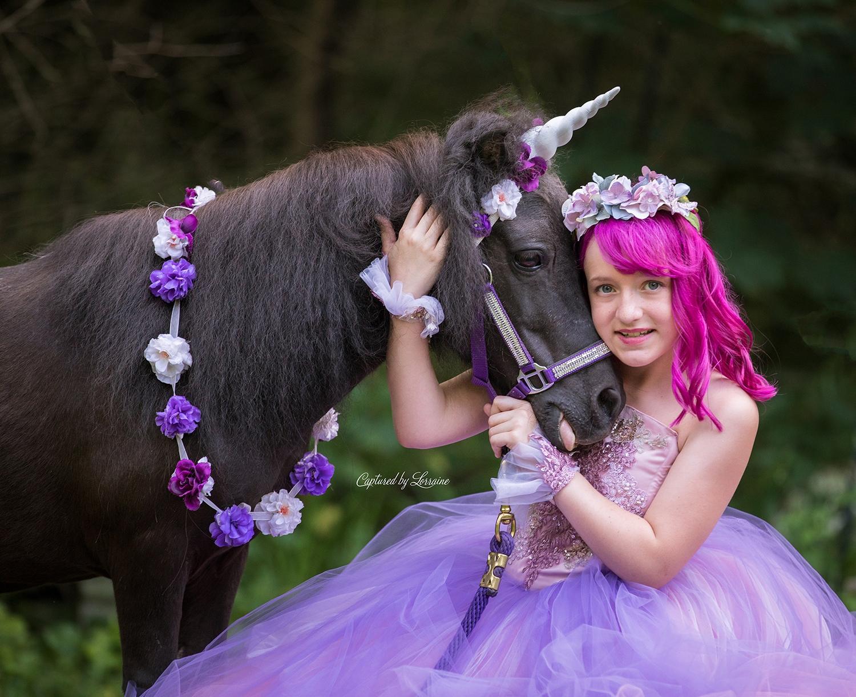Unicorn Photo shoot Illinois