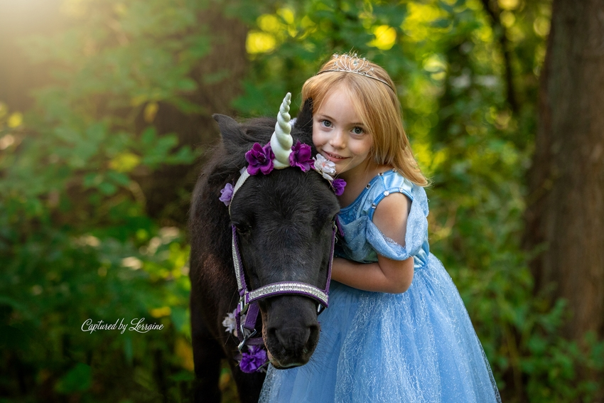 Unicorn and Duckling Photo Session St Charles Illinois