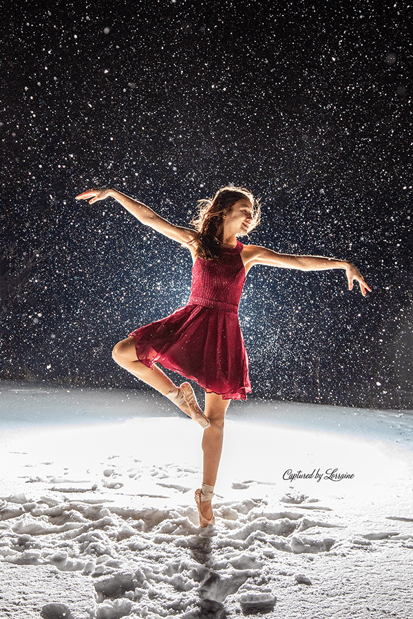 Snow Photo shoot algonquin Illinois