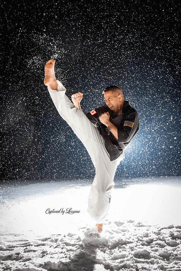 Snow Photo shoot Huntley Illinois