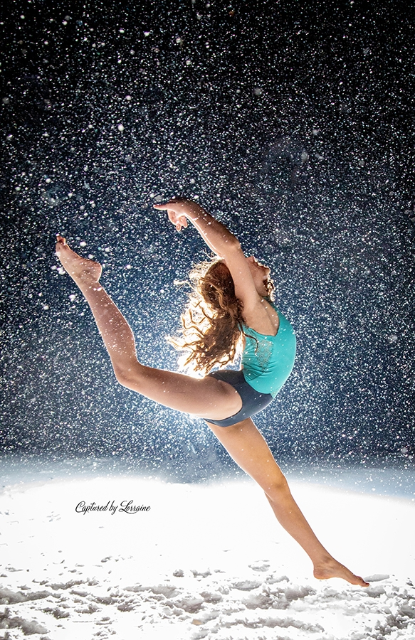 Snow Photo shoot batavia Illinois