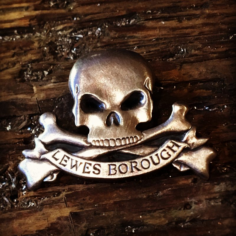 Lewes Borough Bonfire Society Badge