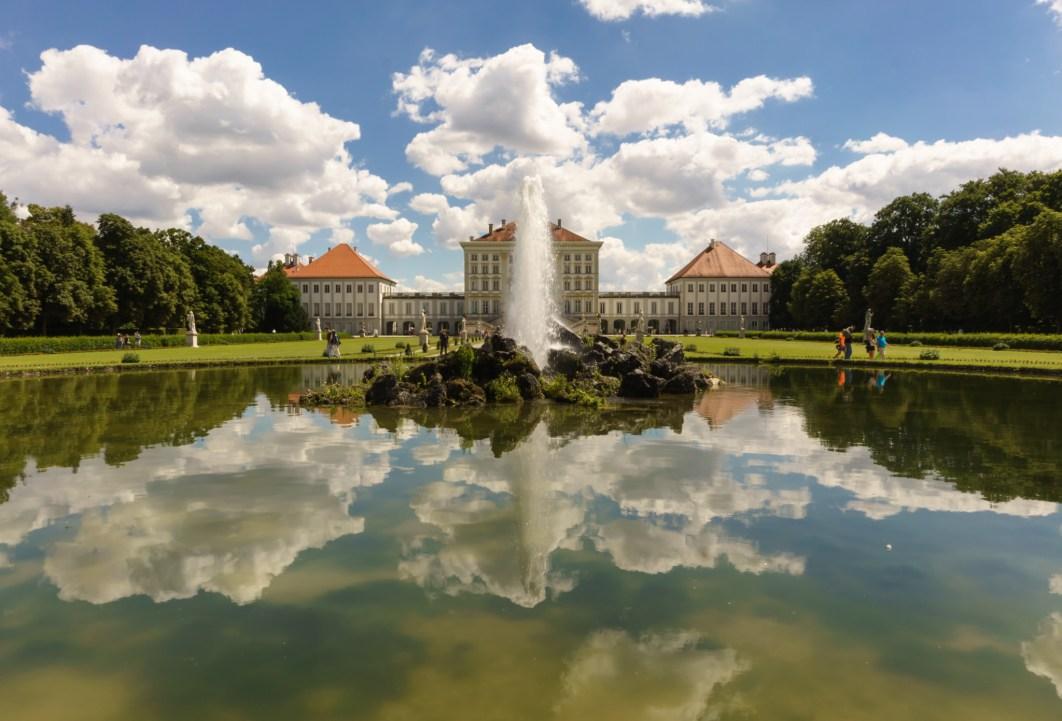 Munich Nymphenburg Reflection