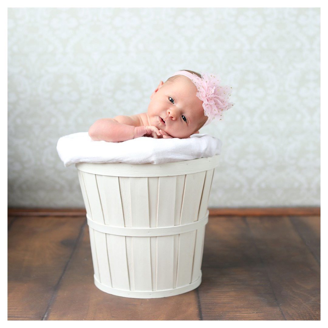 newborn studio with props in berks county