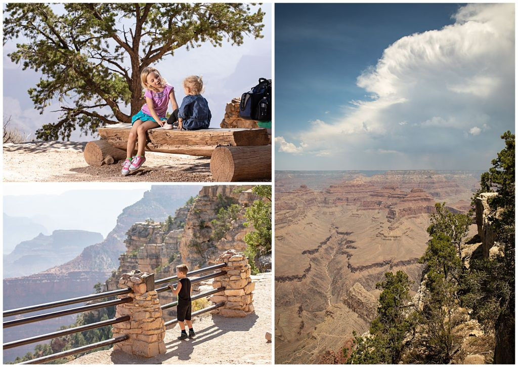 grand canyon family photos with siblings