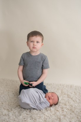 big brother not happy with new baby