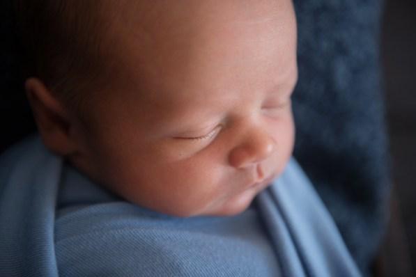 closeup baby details