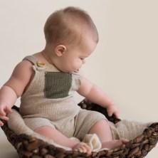 sitter baby in a basket