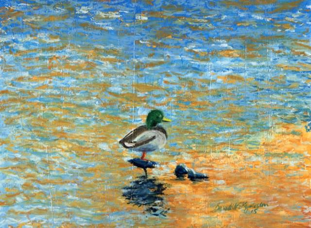 """""""Colorful"""", 11"""" x 15"""", soft pastel , 2015 © Bernadette E. Kazmarski"""