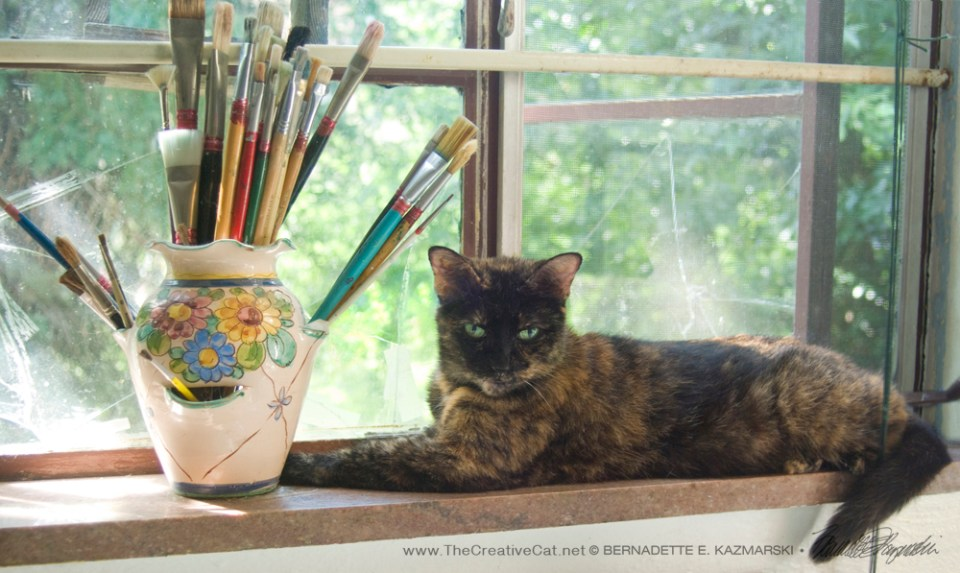 Kelly the Art Cat