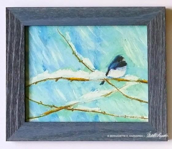Blue Barnwood frame.
