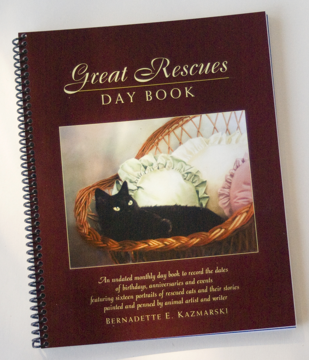 Great Rescues Day Book: Portraits of Cats, Rescue Stories, a Day Book and Feline Care Book
