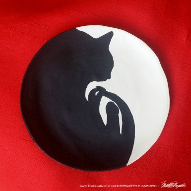 Curving Silhouette Trinket Dish