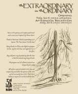 Back cover of program.