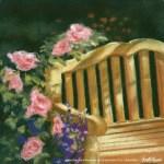 The Perfect Place, 10 x 12, pastel, 1998 © Bernadette E. Kazmarski