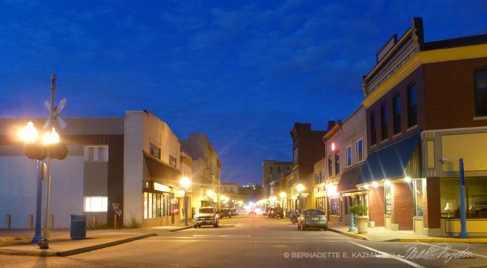 Main Street at Twilight, Photo, 2013